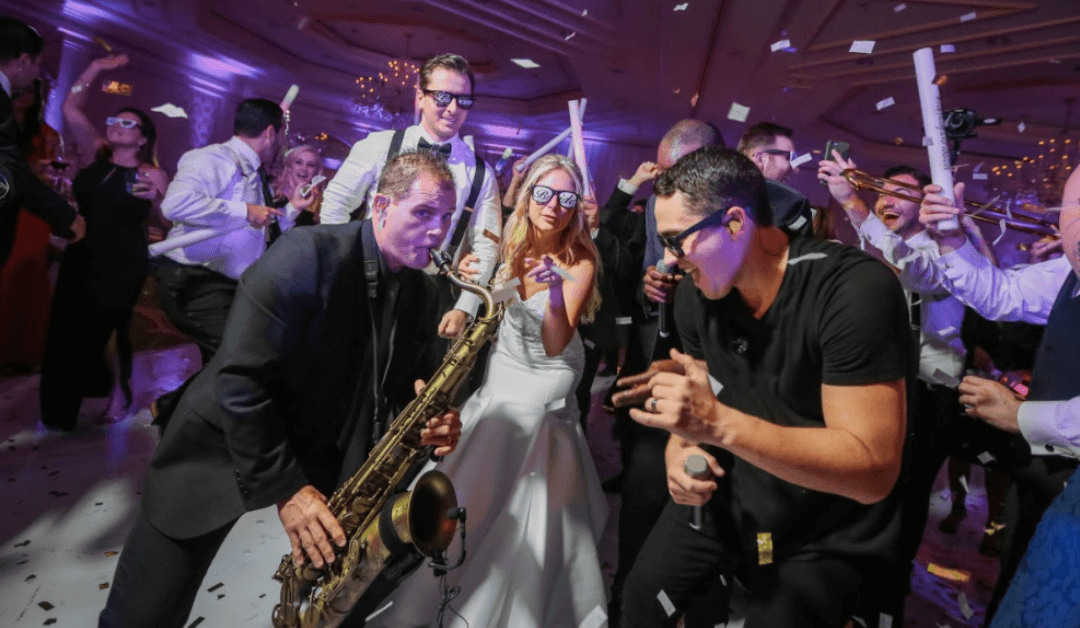 The Headliners Are The Perfect Key Largo Wedding Band!